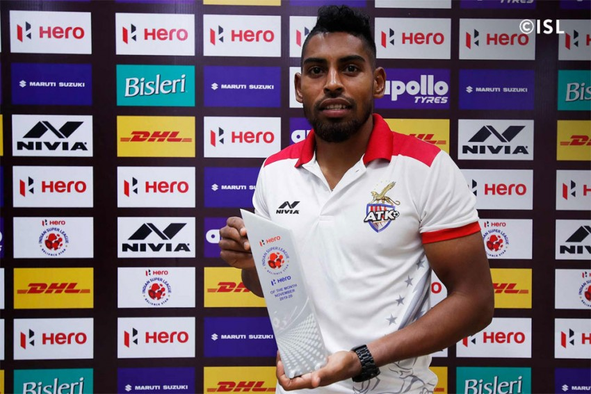 ISL Awards: ATK's Roy Krishna Win November Award