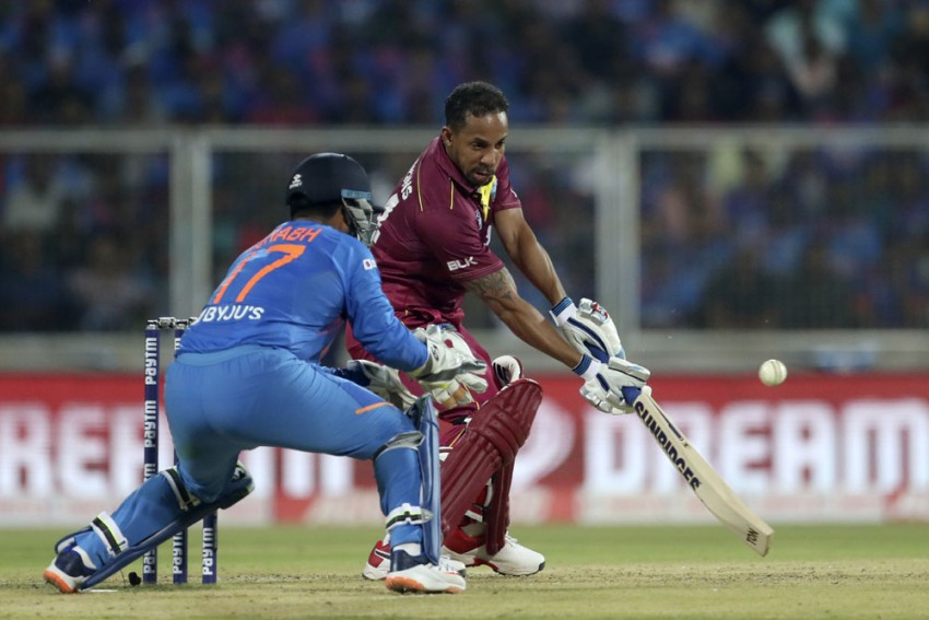 IND Vs WI, 2nd T20I: 'Old-School' Lendl Simmons Revels In Victory As Virat Kohli Laments Fielding Woes