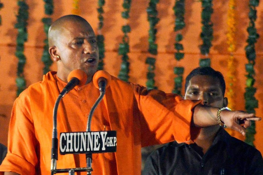 5 NSUI Student Leaders Arrested For Blackening Yogi Adityanath's Posters In Agra