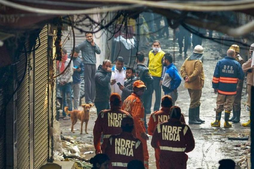 Delhi Anaj Mandi Fire: Factory Owner, Manager Sent To 14-Day Police Custody