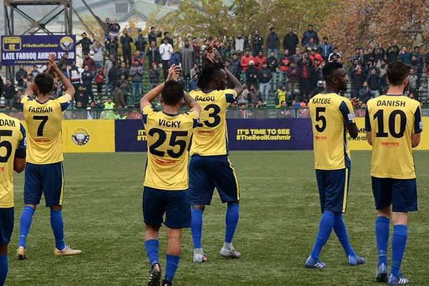 I-League 2019-20: Real Kashmir FC's Two Home Matches Postponed