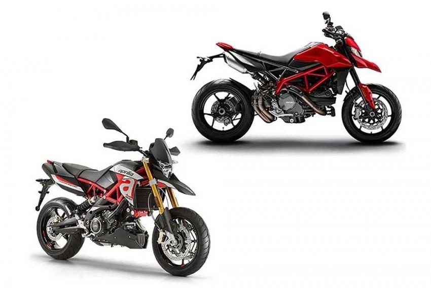 Ducati Hypermotard 950 Vs Aprilia Dorsoduro 900: Spec Comparo