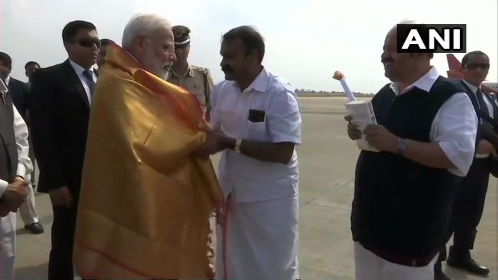 Congress Ignored Nation's Security During Its Tenure, Says PM Modi In Tamil Nadu