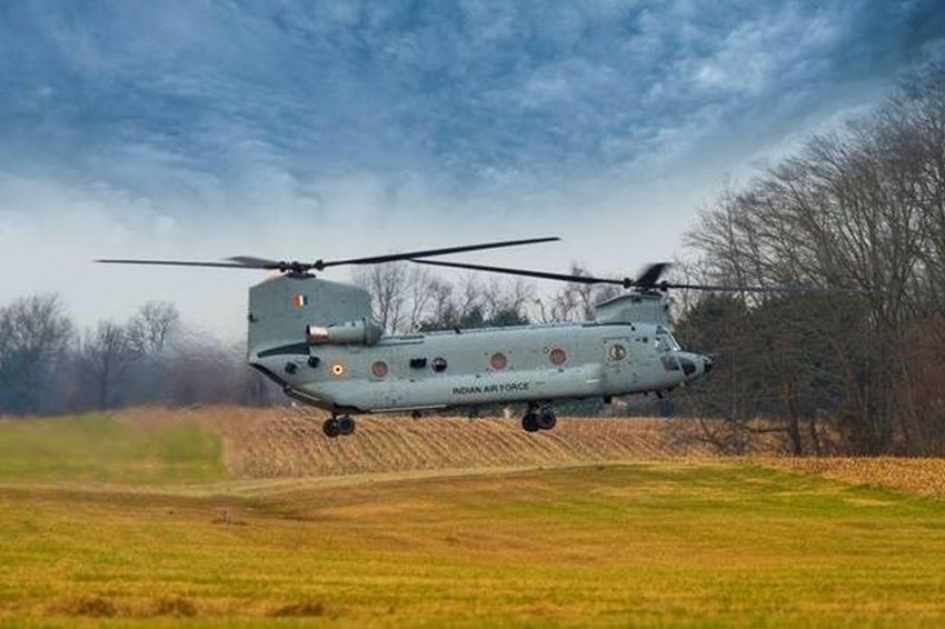 Boeing Delivers First Four Chinook Helicopters For Indian Air Force