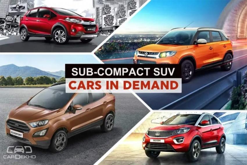 Cars In Demand: Maruti Brezza, Nexon Top Segment Sales In January 2019