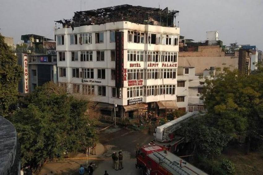 17 Dead In Fire At Hotel In Delhi's Karol Bagh Area, General Manager Arrested