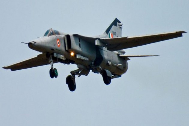 MiG 27 Aircraft Of IAF Crashes In Jaisalmer During Routine Mission, Pilot Safe