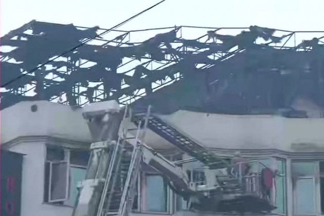 Short Circuit Suspected To Be  Cause Of Fire At Arpit Palace Hotel In Delhi's Karol Bagh