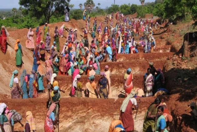 Tribals Protest In Gujarat, Demand Implementation Of Forest Rights Act, MNREGA
