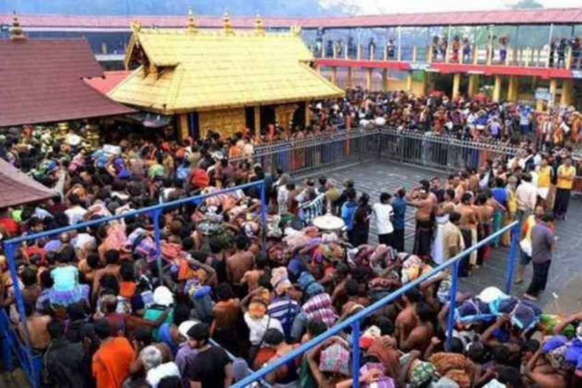 Amid Heavy Security Sabarimala Temple Reopens For Five-Day Monthly Pujas