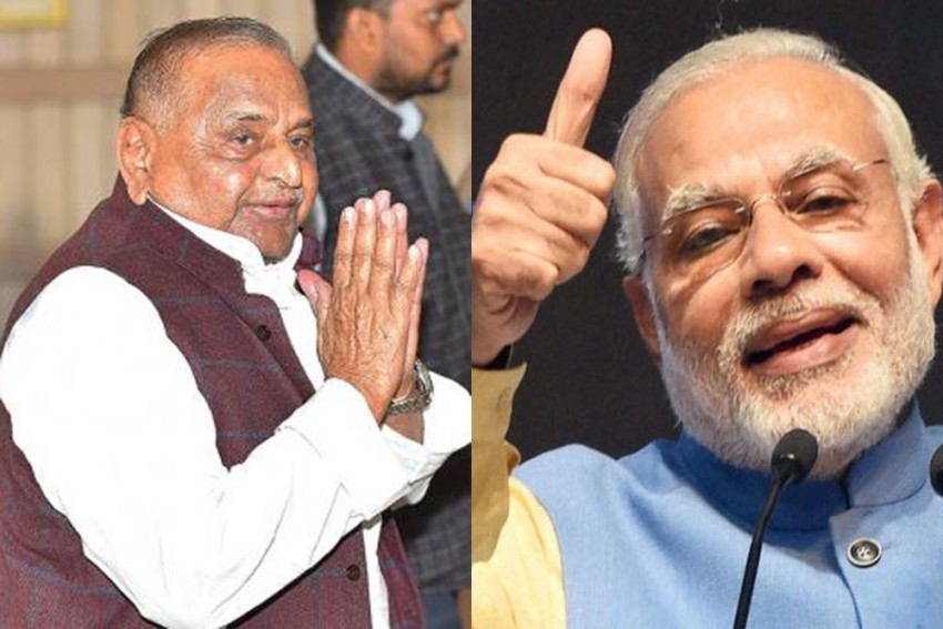 Want To See You As PM Once Again: Mulayam To Modi. PM Says 'Thank You'
