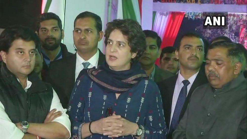 Priyanka Gandhi Vadra Welcomes Mahan Dal As Congress Ally In UP