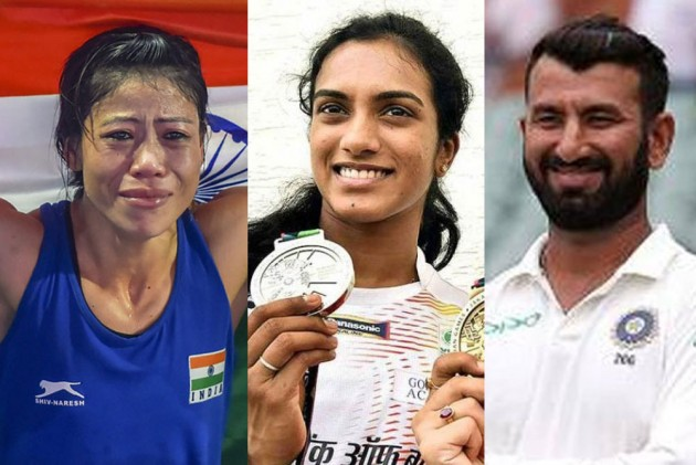 Cheteshwar Pujara, Mary Kom, PV Sindhu Nominated For Indian Sports Honours