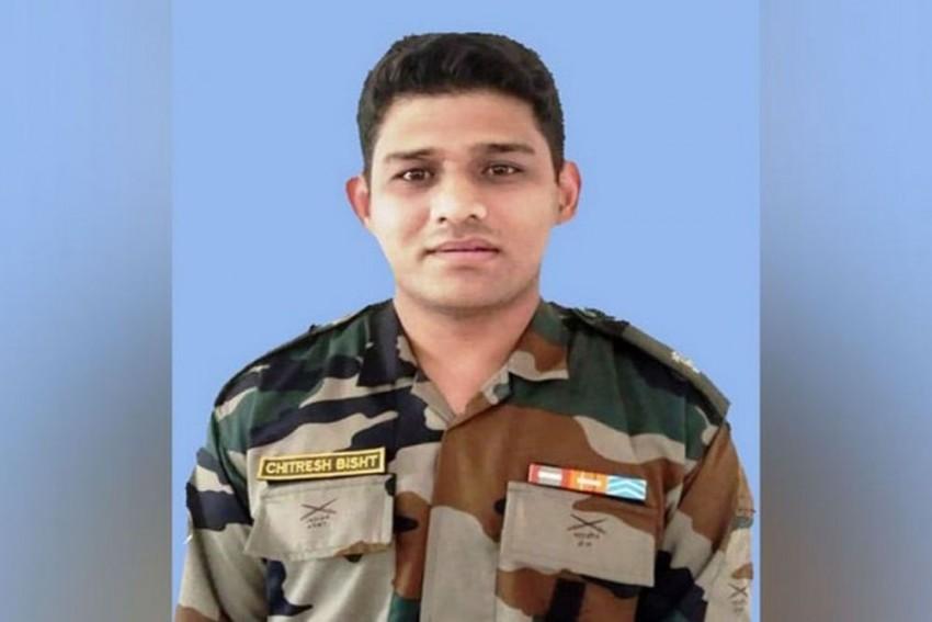 Body Of Army Major Killed In IED Blast In J&K Brought To Dehradun