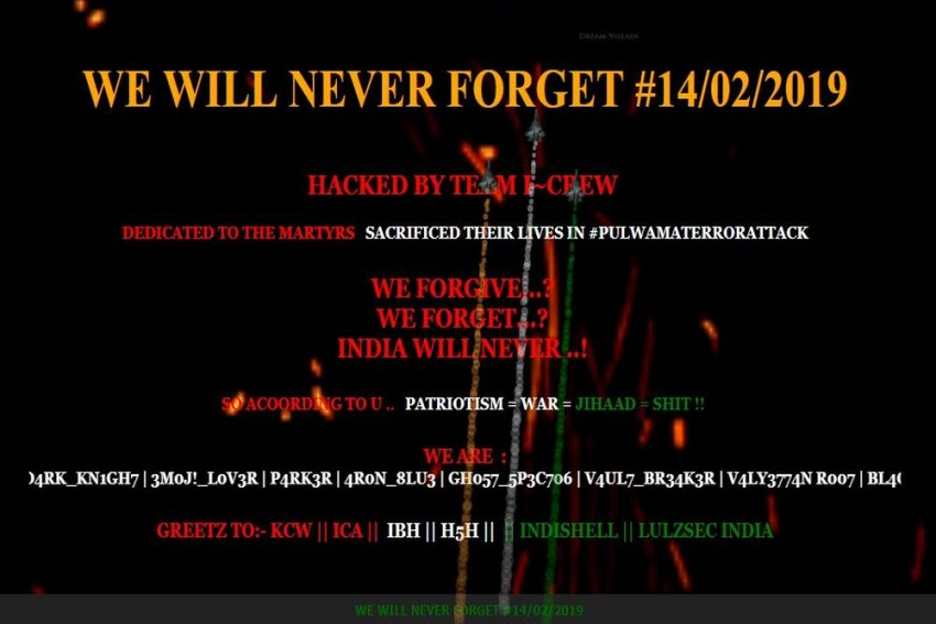 Several Pakistani Websites Reportedly Hacked By Indian Group Over Pulwama Attack