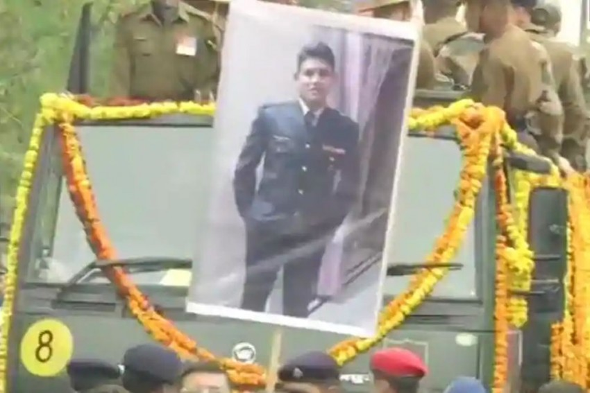 Pulwama Attack: Major Chitresh Bisht Did Come Home But In A Coffin Wrapped In National Flag