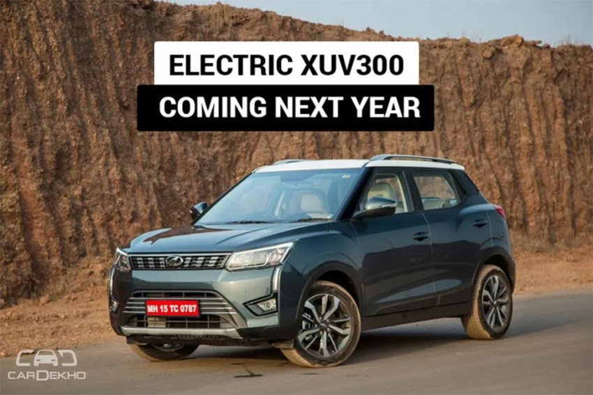 Mahindra XUV300 Electric India Launch In Second Half Of 2020