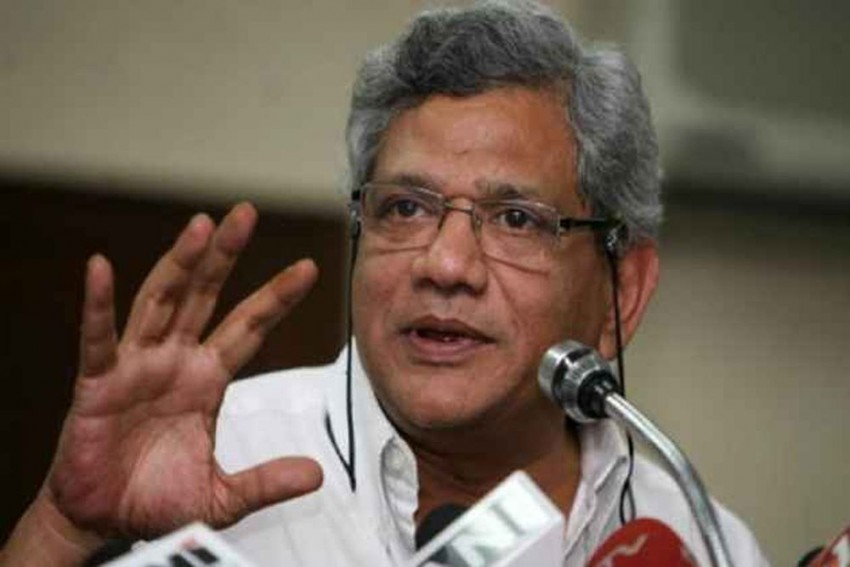 Modi's Make In India, Other Schemes Mere '<em>Jumla</em>': Sitaram Yechury