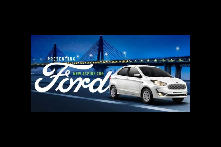 Ford Aspire CNG Variants Launched; Prices Start From Rs 6.27 Lakh
