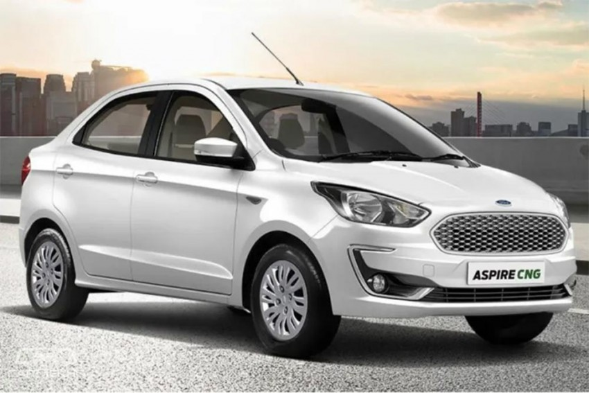 Ford Aspire CNG Launched; Prices Start At Rs 6.27 Lakh
