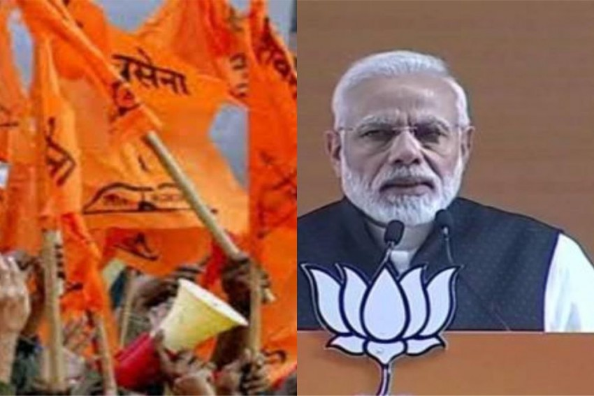 No Political Wave Solved Kashmir Issue: Shiv Sena Targets PM Modi Over Pulwama Attack