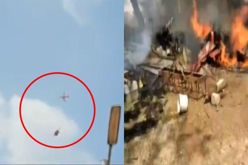 Two Aircraft Of Air Force's Aerobatics Team Crash In Bengaluru, One Pilot Dead