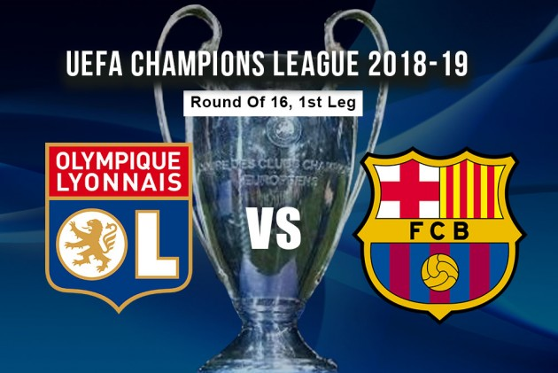 Lyon Vs Barcelona: When And Where To Watch Champions League Round Of 16 Match?