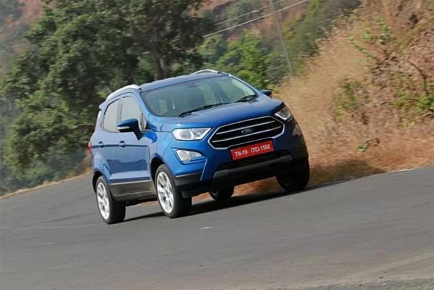 Ford EcoSport Titanium, Titanium+ Variants Get New Instrument Cluster