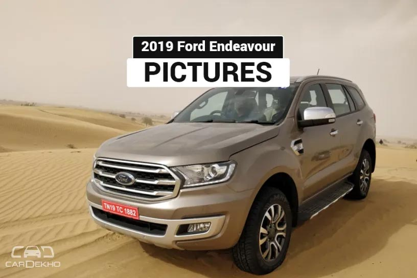 Ford Endeavour 2019: In Pictures