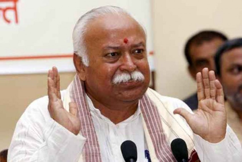 RSS Chief Mohan Bhagwat Faces Protests At Kumbh Over Delay In Ram Temple Construction
