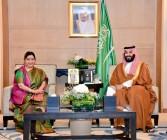 Sushma Swaraj Calls On Saudi Crown Prince, Focus On Expanding Strategic Ties