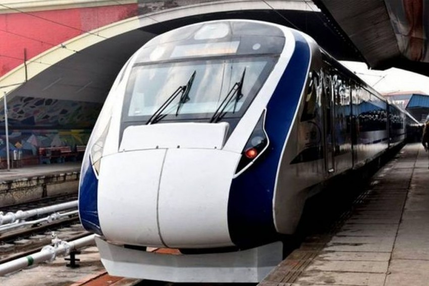 Stone Hurled At Vande Bharat Express For Third Time In Two Months