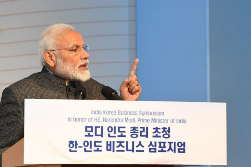 India Sees South Korea As Natural Partner: PM Modi In Seoul