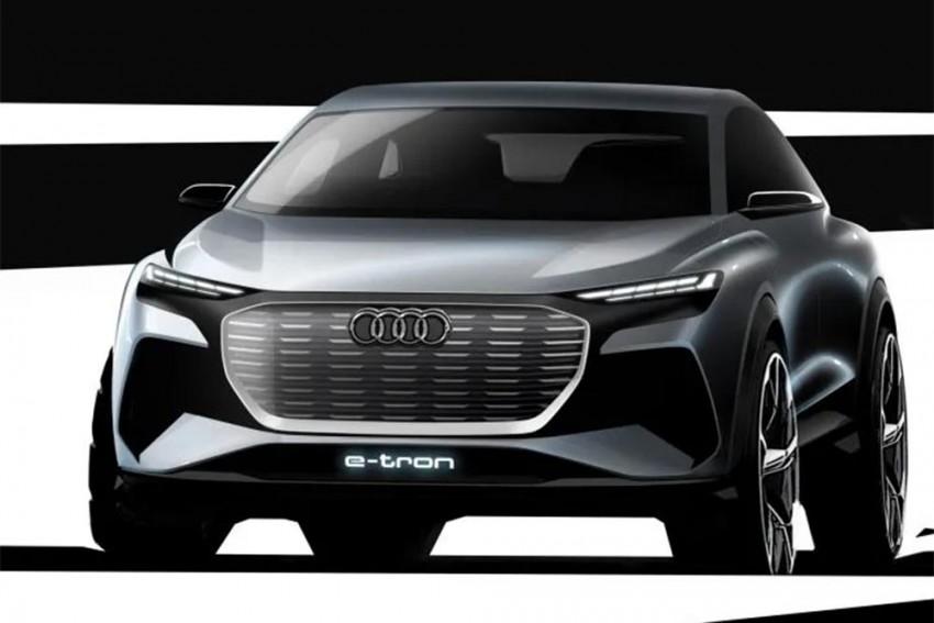 Audi Q4 E-Tron Concept Teased Ahead Of Geneva Debut