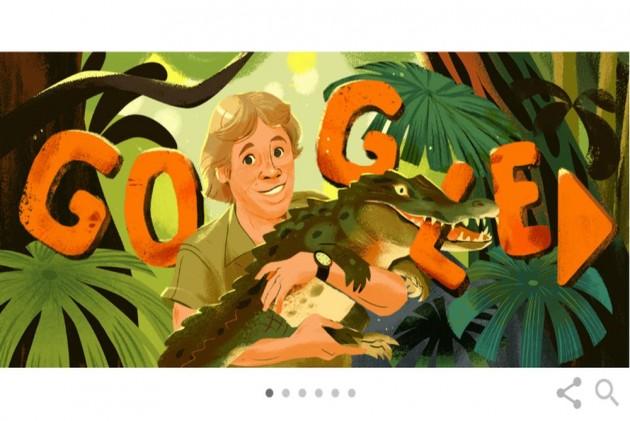 Google Remembers 'The Crocodile Hunter' Steve Irwin On Birth Anniversary With Doodle