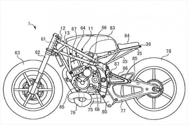 Is Suzuki Working On A Single Cylinder Cafe Racer