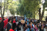 Thousands Of Nagas Hold Rally In Delhi Demanding Solution To Naga Crisis