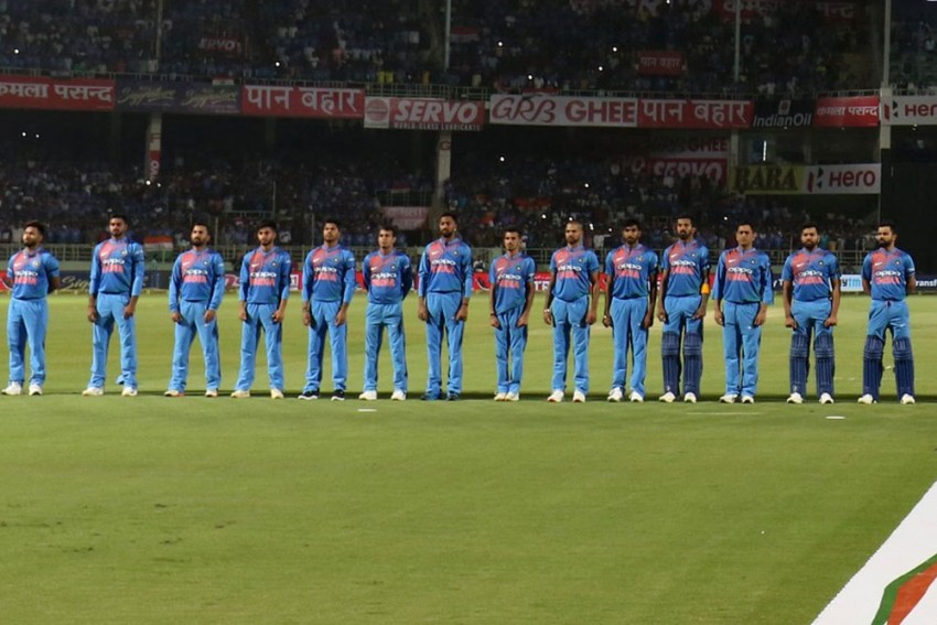India Vs Australia: India Players Wear Black Armbands As Mark Of Respect For Pulwama Victims
