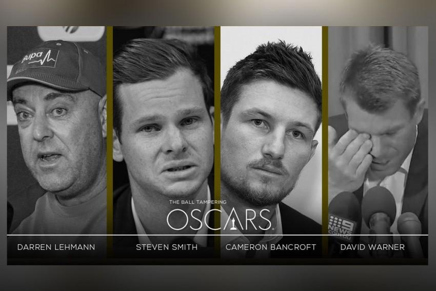 Barmy Army Trolls Darren Lehmann, Steven Smith, David Warner, Cameron Bancroft With Oscars Jibe