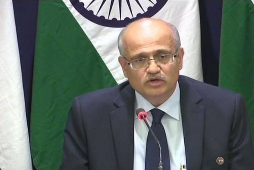 IAF Jets Struck Jaish Camps In Balakot, Large Number Of Terrorists Killed: Foreign Secretary