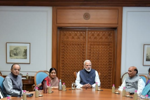 PM Modi Chairs CCS After IAF Carries Out Cross-Border Strikes, IAF On High Alert
