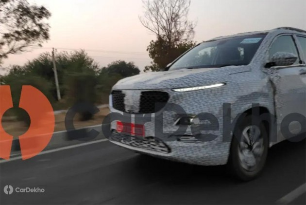 MG Hector SUV Leaked Image Confirms Petrol-Automatic Drivetrain