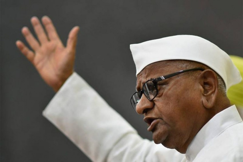 'Yes, BJP Used Me In 2014', Says Anna Hazare On Day 6 Of Hunger Strike