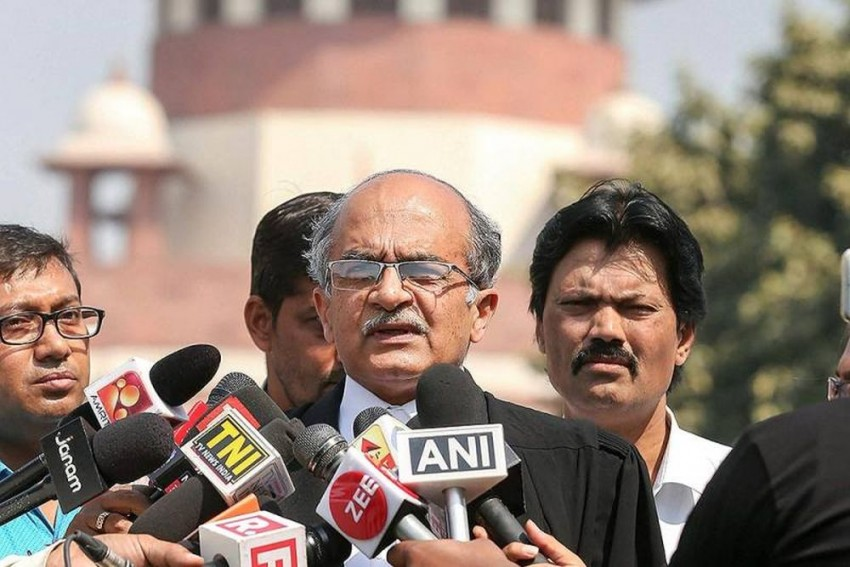 Attorney General K K Venugopal Files Contempt Petition Against Prashant Bhushan
