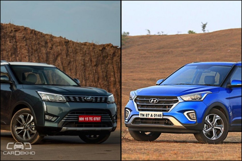 Mahindra XUV300 Vs Hyundai Creta: Image Comparison