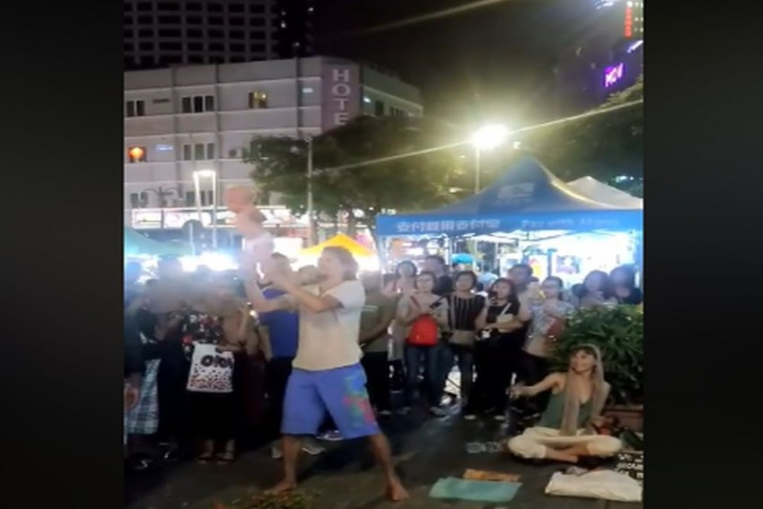 VIDEO: Couple Violently Swings 4-Month-Old Baby To Fund World Tour