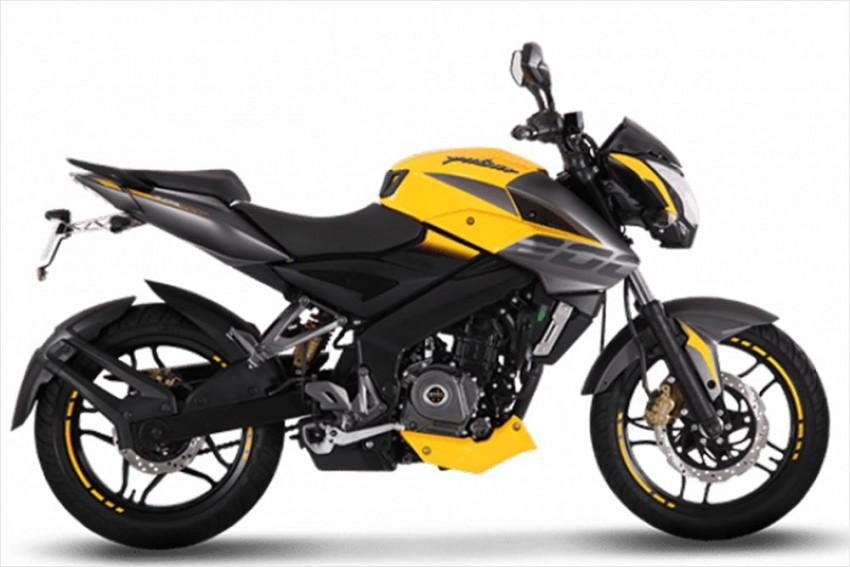 Bajaj Pulsar NS 200 Now Comes In Yellow, Again