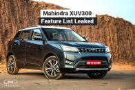 Mahindra XUV300 Variant Wise Features List Leaked Ahead Of Launch