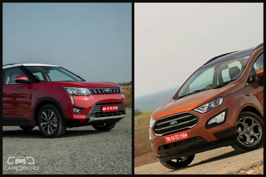 Mahindra XUV300 vs Ford EcoSport: In Pics