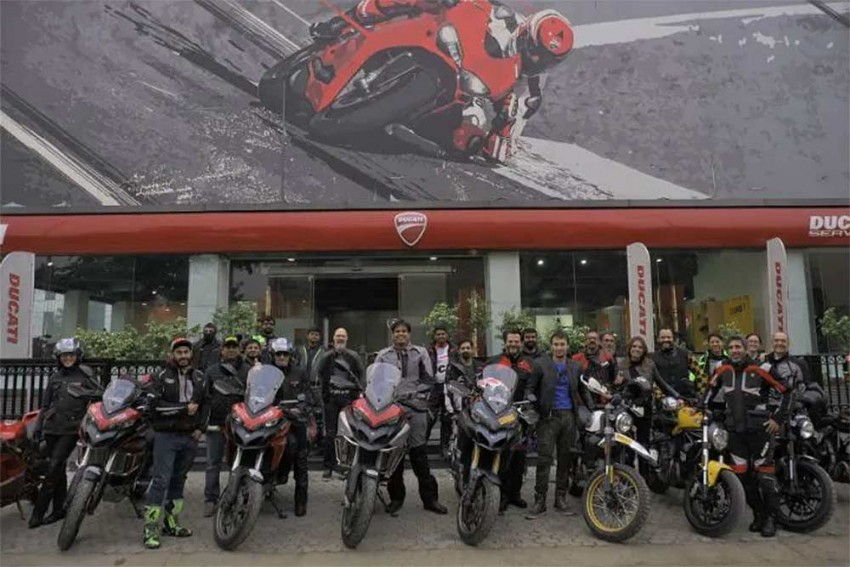 Ducati Commences Dream Tour With Rajasthan Ride